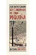 Portada de LOS CUADERNOS DE LETRA PEQUEÑA