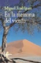 Portada de EN LA MEMORIA DEL VIENTO