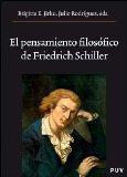 Portada de EL PENSAMIENTO FILOSOFICO DE FRIEDICH SCHILLER