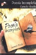 Portada de POESIA INCOMPLETA