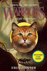 Portada de WARRIORS: OMEN OF THE STARS #3: NIGHT WHISPERS