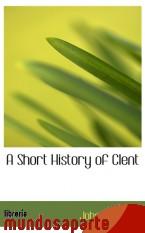 Portada de A SHORT HISTORY OF CLENT