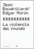 Portada de LA VIOLENCIA DEL MUNDO