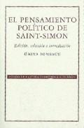 Portada de EL PENSAMIENTO POLITICO DE SAINT-SIMON