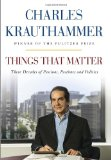 Portada de THINGS THAT MATTER: THREE DECADES OF PASSIONS, PASTIMES AND POLITICS