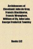 Portada de ARCHDEACONS OF CLEVELAND: JOHN DE GRAY,