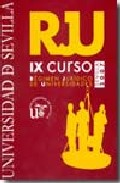 Portada de IX CURSO DE REGIMEN JURIDICO DE UNIVERSIDADES