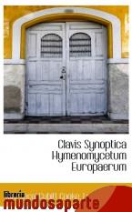 Portada de CLAVIS SYNOPTICA HYMENOMYCETUM EUROPAERUM