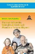 Portada de CONSORCIO GALEGO DE SERVIZOS DE IGUALDADE E BENESTAR. PERSONAL DESERVICIOS GENERALES DE CENTROS DE ATENCION A PERSONAS MAYORES. TEMARIO PARTE ESPECIFICA