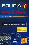 Portada de ESCALA BASICA DE POLICIA NACIONAL. TEMARIO ABREVIADO PARA REPASO