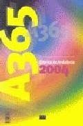 Portada de CRONICA DE ANDALUCIA 2004