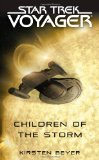 Portada de STAR TREK: VOYAGER: CHILDREN OF THE STORM