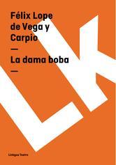 Portada de LA DAMA BOBA (EBOOK)