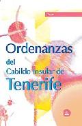 Portada de ORDENANZAS DEL CABILDO INSULAR DE TENERIFE: TEST