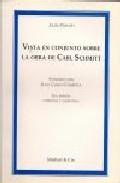 Portada de VISTA DE CONJUNTO SOBRE LA OBRA DE CARL SCHMITT