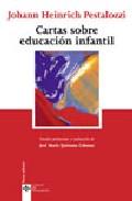 Portada de CARTAS SOBRE EDUCACION INFANTIL