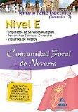 Portada de NIVEL E COMUNIDAD FORAL DE NAVARRA. TEMARIO PARTE ESPECIFICA