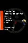 Portada de LA MEMORIA COMO ACCION SOCIAL: RELACIONES, SIGNIFICADOS E IMAGINARIO