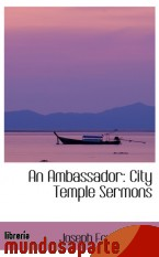 Portada de AN AMBASSADOR: CITY TEMPLE SERMONS