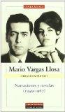 Portada de MARIO VARGAS LLOSA: NARRACIONES Y NOVELAS