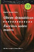 Portada de OBRAS DRAMATICAS; ESCRITOS SOBRE TEATRO