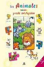Portada de LOS ANIMALES (PUZZLE ENCICLOPEDIA)