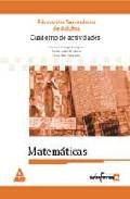 Portada de CUADERNO DE ACTIVIDADES DE MATEMATICAS