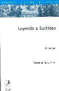 Portada de LEYENDO A EUCLIDES