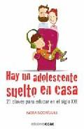 Portada de HAY UN ADOLESCENTE SUELTO EN CASA