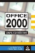 Portada de OFFICCE 2000 PARA OPOSICIONES