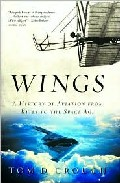 Portada de WINGS: A HISTORY OF AVIATION FROM KITES TO THE SAPCE AGE