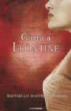 Portada de CARTA A LÉONTINE