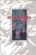 Portada de BIOGEOGRAFIA