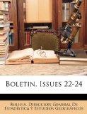 Portada de BOLETIN, ISSUES 22-24