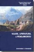 Portada de VIAJES, LITERATURA Y PENSAMIENTO