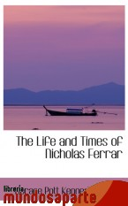 Portada de THE LIFE AND TIMES OF NICHOLAS FERRAR
