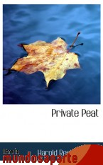 Portada de PRIVATE PEAT
