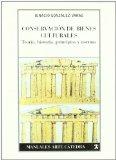 Portada de CONSERVACION DE BIENES CULTURALES: TEORIA, HISTORIA, PRINCIPIOS YNORMAS