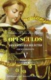 Portada de OPUSCULOS Y CUESTIONES SELECTAS V: EDICION BILINGÜE. TEOLOGIA