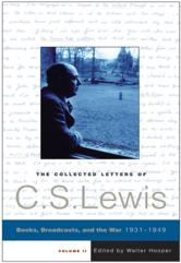 Portada de THE COLLECTED LETTERS OF C.S. LEWIS, VOLUME 2