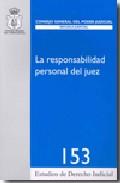 Portada de RESPONSABILIDAD PERSONAL DEL JUEZ
