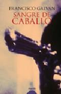 Portada de SANGRE DE CABALLO