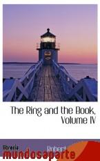 Portada de THE RING AND THE BOOK, VOLUME IV