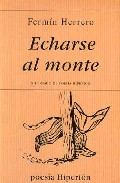 Portada de ECHARSE AL MONTE