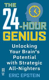 Portada de THE 24-HOUR GENIUS
