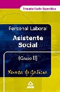 Portada de ASISTENTE SOCIAL DE LA XUNTA DE GALICIA: TEMARIO