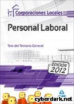 Portada de PERSONAL LABORAL DE CORPORACIONES LOCALES. TEST DEL TEMARIO GENERAL - EBOOK