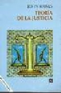 Portada de TEORÍA DE LA JUSTICIA