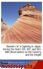 Portada de MEMOIRS OF A CAPTIVITY IN JAPAN, DURING THE YEARS 1811, 1812, AND 1813: WITH OBSERVATIONS ON THE COU