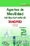 Portada de AGENTES DE MOVILIDAD DEL AYUNTAMIENTO DE MADRID. TEMARIO VOLUMEN II